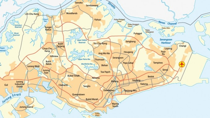 singapur-stadtplan