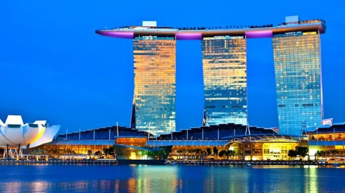 Hotel In Singapur Mit Pool Auf Dem Dach