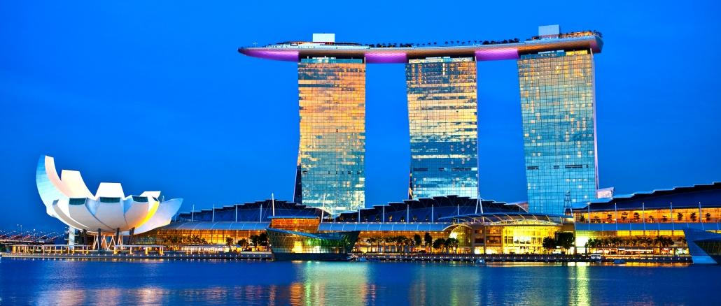 Marina Bay Sands In Singapur Ist Ein Spektakul 228 Res Hotel